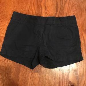Navy Jcrew shorts